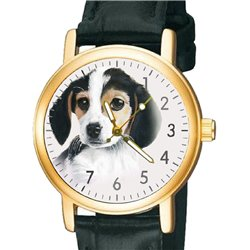 Beautiful Beagle Pup Portrait Classic Puppy Dog Art Wrist Watch For All Ages