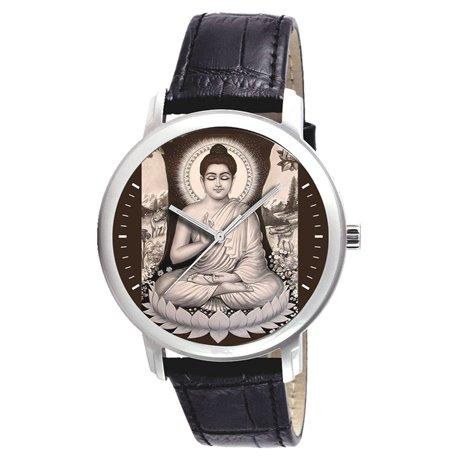 The Buddha Meditating. Nirvana. Classical Buddism Wrist Watch