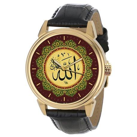 Holy Koran Quaran Islamic Calligraphy Collectible Arabic Wrist Watch