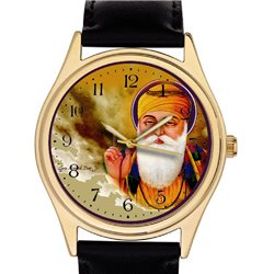 Guru Nanak Blessing, Beautiful Tribute Sikhism Devotional Wrist Watch