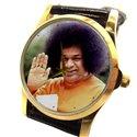 Sathya Sai Baba, Beautiful Tribute Hinduism Devotional Wrist Watch Unisex Size