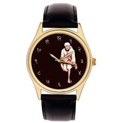 Shri Sai Baba of Shirdi, His Original photo Art Collectible Wrist Watch