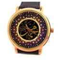 The Name of Allah. Beautiful Islamic Calligraphy Collectible Wrist Watch