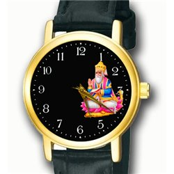 Beautiful Jhulelal Sindhu Sindhi Religious Art Wrist Watch