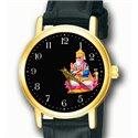 Beautiful Jhulelal Sindhu Sindhi Religious Art Wrist Watch