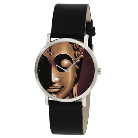 The Buddha Enlightenment. Rare Artwork. Classical Buddhism Wrist Watch