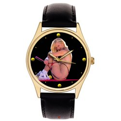 Erotic Lawn Tennis Sexy Art Collectible 40 mm Wrist Watch
