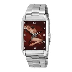 Marilyn Monroe Playboy Centerspread Erotic Wrist Watch