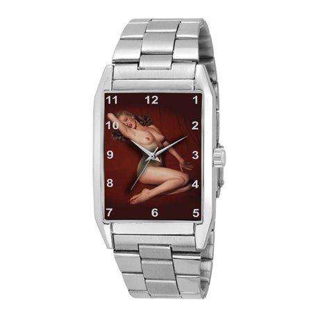 Marilyn Monroe Playboy Centerspread Erotic Wrist Watch
