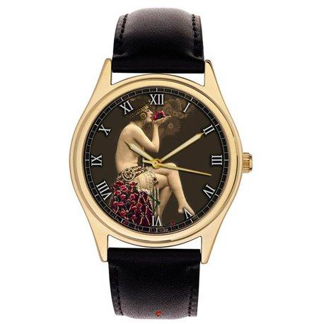 Erotic Elizabethan Vintage Wrist Watch