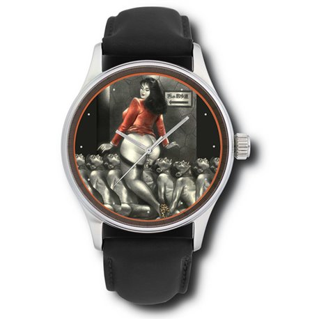 Japanese Domination Vintage Art Gents Erotica Wrist Watch