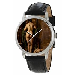 Butt Study Classical Edwardian Nude Erotic Art Gents Wrist Watch