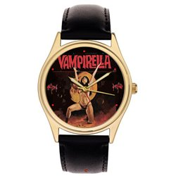 Erotic Vampirella Original Silver Age Comic Art Wrist Watch