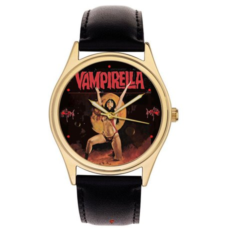 VAMPIRELLA - Golden Age Comic Art Wrist Watch