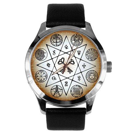 Masonic Esotericism Wrist Watch