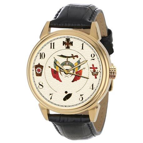 Masonic COFFIN Wrist Watch