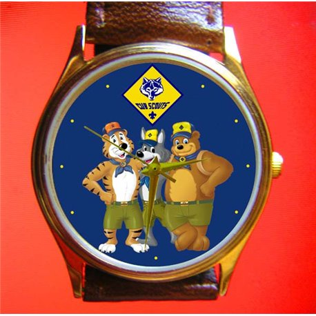 CUB SCOUTS - Little Bears Art Boys Wrist Watch