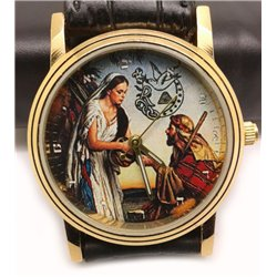 Rebekah Society - Collectible Biblical Art Wrist Watch