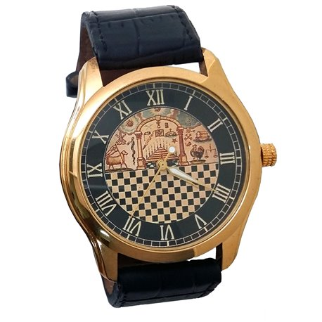 Temple of Solomon Masonic Wrist Watch