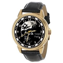 Symbolic Freemasonry / Masonic Skull Art Collectible Wrist Watch