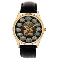 The Odd Fellows Oddfellows Classic Symbolic Large Format Gents Wrist Watch