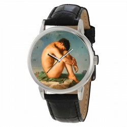 "Gay Queer Collectible Renaissance ""Twink"" Art Wrist Watch"