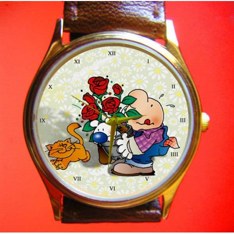 ZIGGY - Mayflowers! Collectible Comic Art Wrist Watch
