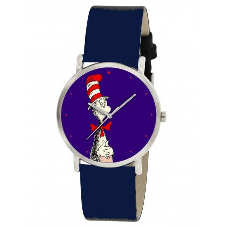 Dr Seuss' CAT IN THE HAT Unisex Wrist Watch