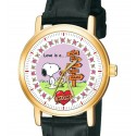 Snoopy, Love is a Mom, Symbolic Peanuts Collectible Unisex 30 mm Wrist Watch