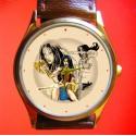 WONDER WOMAN - Vintage Comic Collage Wrist Watch