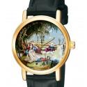 """""""The White Rabbit"""" Alice in Wonderland Lewis Carroll Original Art Collectible Wrist Watch"""