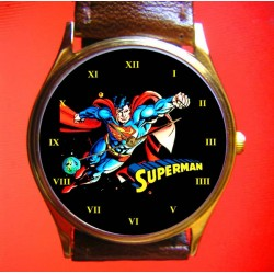 SUPERMAN - Man of Steel - Collectible Boys' Wrist Watch