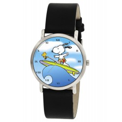 Snoopy Surfing Beautiful Blue Unisex Peanuts Collectible Wrist Watch
