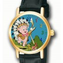 PORKY PIG - Indian Chief - Collectible Looney Tunes Wrist Watch
