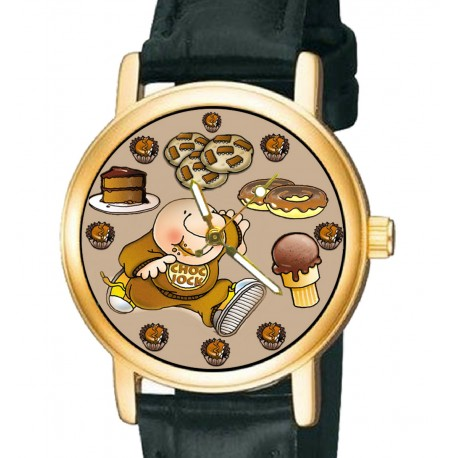 ZIGGY - The Choc Jock! Collectible Comic Art Wrist Watch