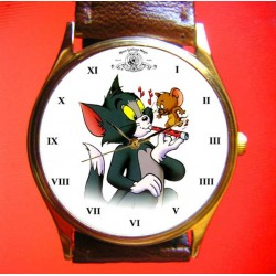 TOM and JERRY - Classic Vintage Art Collectible Wrist Watch