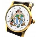 "Asterix & Obelix ""Friends!"" Vintage French Art Solid Brass Wrist Watch"