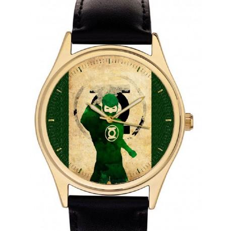 The Green Lantern Vintage Superhero Comic Art Collectible Wrist Watch