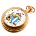 Asterix & Obelix Vintage Pocket Watch. Solid Brass. Mechanical 17 Jewels