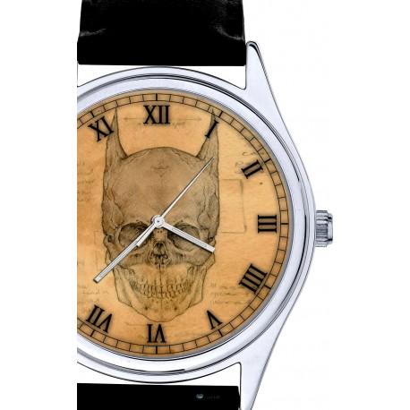 Da Vinci BATMAN Skull Art 40 mm Collectible Wrist Watch