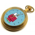 PEANUTS: Snoopy & Woodstock Doghouse Pocket Watch