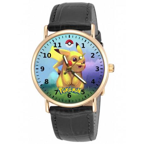 Pokemon - Pikachu Rainbow Vintage Collectible Solid Brass Unisex Wrist Watch