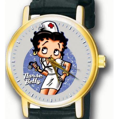 Nurse Betty Beautiful Hospital Art Collectible Betty Boop Wrist Watch