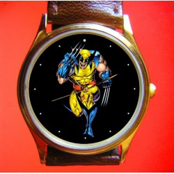WOLVERINE - Golden Age Comic Art Wrist Watch