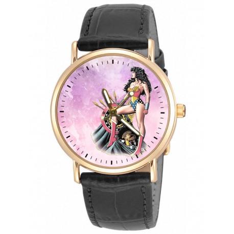 WONDER WOMAN - Silver Age Comic Art Wrist Watch