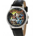 Superman v/s Muhammad Ali, Vintage French Comic Art Collectible 40 mm Adult Size Wrist Watch