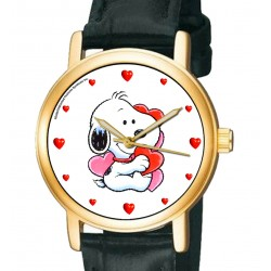 PEANUTS: Baby Snoopy's Valentine's Day Gift Wrist Watch