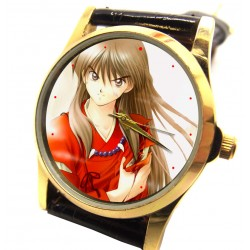 INUYASHA - Flame Red Art Collectible Manga Wrist Watch