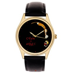 Calvin & Hobbes Wrist Watch, Contemporary Art Collectible Rare Adult Size
