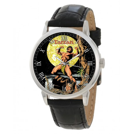 Tarzan, the Apeman, Edgar Rice Burroughs Original Art Collectible Wrist Watch